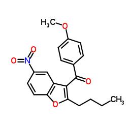 (2-butyl-5-nitro-1-benzofuran-3-yl)-(4-methoxyphenyl)methanone