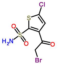 3-(2-Bromoacetyl)-5-chlorothiophene-2-sulfonamide