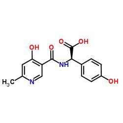 (R)-2-(4-Hydroxy-6-methylnicotinamido)-2-(4-hydroxyphenyl)acetic acid