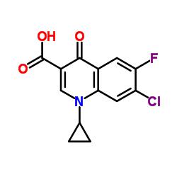 7-Chloro-1-cyclopropyl-6-fluoro-1,4-dihydro-4-oxoquinoline-3-carboxylic Acid