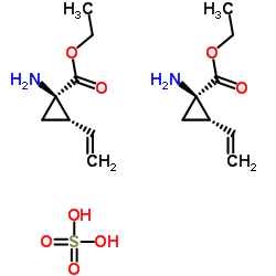 (1R、2S)-1-アミノ-2-エテニルシクロプロパン-1-カルボン酸エチル、硫酸