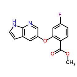 Methyl 2-(1H-pyrrolo[2,3-b]pyridin-5-yloxy)-4-fluorobenzoate