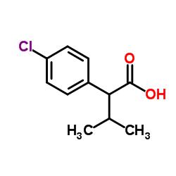 2-(4-chlorophenyl)-3-methylbutyric acid