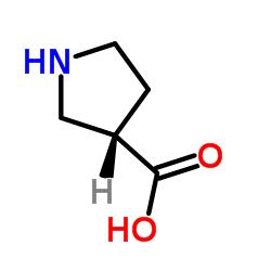 (3S)-ピロリジン-3-カルボン酸
