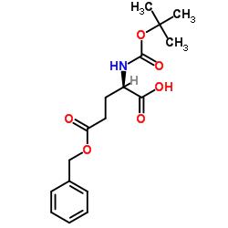 N-tert-Butoxycarbonyl-D-glutamic acid 5-benzyl ester
