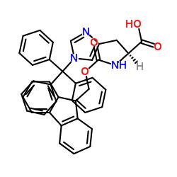 N-Fmoc-N'-trityl-L-histidine