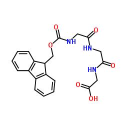 2-[2-(2-{[(9H-Fluoren-9-ylmethoxy)carbonyl]-amino}acetamido)acetamido]acetic acid