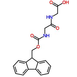 2-[[2-(9H-fluoren-9-ylmethoxycarbonylamino)acetyl]amino]acetic acid