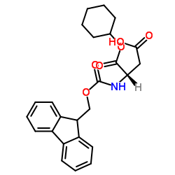 (2S)-4-cyclohexyloxy-2-(9H-fluoren-9-ylmethoxycarbonylamino)-4-oxobutanoic acid