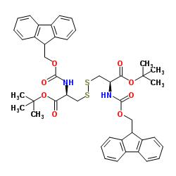 (fmoc-cys-otbu)2, (disulfide bond)