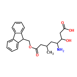 (3S,4S)-4-(9H-fluoren-9-ylmethoxycarbonylamino)-3-hydroxy-6-methylheptanoic acid