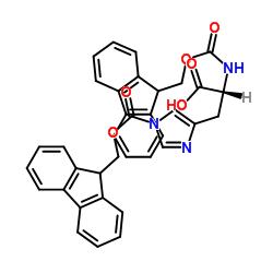 (2R)-2-(9H-fluoren-9-ylmethoxycarbonylamino)-3-[1-(9H-fluoren-9-ylmethoxycarbonyl)imidazol-4-yl]propanoic acid