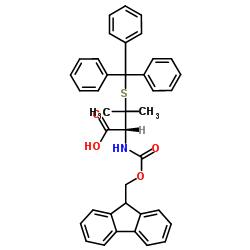 (2R)-2-(9H-fluoren-9-ylmethoxycarbonylamino)-3-methyl-3-tritylsulfanylbutanoic acid