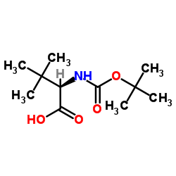 (2R)-3,3-dimethyl-2-[(2-methylpropan-2-yl)oxycarbonylamino]butanoic acid