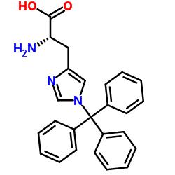 (2S)-2-amino-3-(1-tritylimidazol-4-yl)propanoic acid