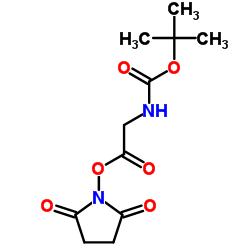 (2,5-dioxopyrrolidin-1-yl) 2-[(2-methylpropan-2-yl)oxycarbonylamino]acetate