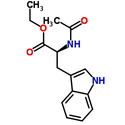 ethyl (2S)-2-acetamido-3-(1H-indol-3-yl)propanoate