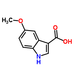 5-Methoxy-3-indolecarboxylic acid