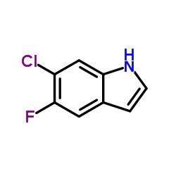 6-クロロ-5-フルオロインドール