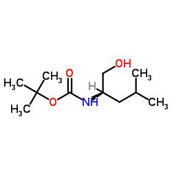 tert-butyl N-[(2R)-1-hydroxy-4-methylpentan-2-yl]carbamate