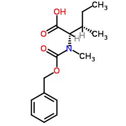 N-Cbz-N-methyl-L-isoleucine