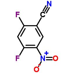 2,4-Difluoro-5-nitrobenzonitrile
