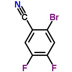 2-Bromo-4,5-difluorobenzonitrile
