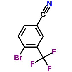3-Trifluoromethyl-4-bromobenzonitrile