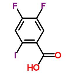 4,5-ジフルオロ-2-ヨード安息香酸