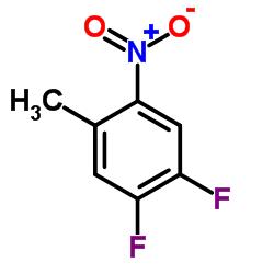 1,2-Difluoro-4-methyl-5-nitrobenzene