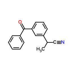 2-(3-Benzoylphenyl)propionitrile