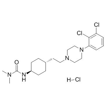 3-[4-[2-[4-(2,3-dichlorophenyl)piperazin-1-yl]ethyl]cyclohexyl]-1,1-dimethylurea,hydrochloride