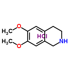 6,7-dimethoxy-1,2,3,4-tetrahydroisoquinoline,hydrochloride