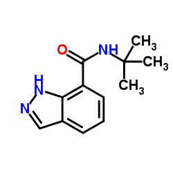 N-(tert-Butyl)-1H-indazole-7-carboxamide